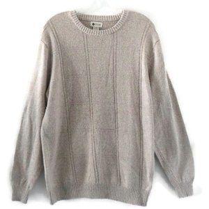 Haggar Men's Tan Sweater